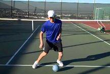 Tennisoefeningen conditie