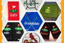 Golf towels / Personalized golf towels