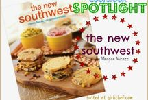 THE NEW SOUTHWEST #CookbookSpotlight with Girlichef / Celebrate author Meagan Micozzi's cookbook debut with these 15 bloggers as they cook from the book. Plus they will each be giving away a copy of the book!  week one (October 14-20): Mushroom and Leek Migas week two (October 21-27): Blogger's Choice week three (October 28-November 3): Review + Giveaway  (See more at: http://www.girlichef.com/2013/10/TheNewSouthwest-CookbookSpotlight.html#sthash.O050ZqrK.dpuf)