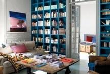 Lounge Shelving & Layout Ideas