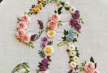 cifre con fiori