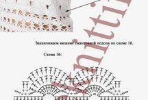 Схемы платья крючком
