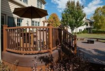 Trex Decks / Rock Solid Builders is proud to be the largest Trex deck builder located in McHenry County.  In this board you will see a variety of our Trex custom deck including Trex custom curve decks.