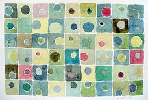 Geometric Shapes Paintings / by Esther Hartley