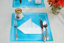 Mariage marin décoration de table / Des idées de décoration de table sur le thème de la mer - seaside wedding decoration table