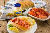 Lobster Rolls / Maine lobster rolls http://shop.mainelobsternow.com/Lobster-Roll-Kits_c7.htm