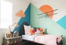 Çocuk odası dekor