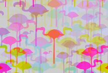 Flamingos / by Merideth Henry