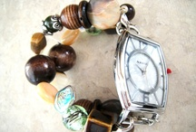 Jenn Zes Designs-Handcrafted beaded watches <3 / Interchangeable handcrafted beaded watches. Custom made to order! / by Jennifer Zesiger