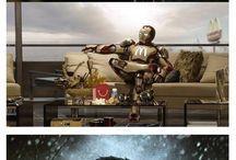 Képregény hősök-Bosszúállók