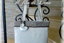 Le Maddine e il fashion / Handmade clothes, bags and other accessories