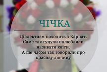 українська. діалектизми