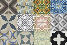 Patchwork Tiles / Patchwork azulejos mosaicos cemento