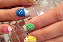 Cute whimsy nails