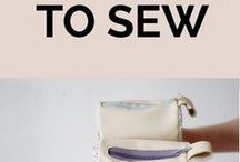 sewing projects - accessories