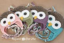 >> Crochet owls <<