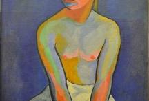 Fauves & Expressionnistes / peinture, fauvisme, der Blaue Reiter, expressionnisme, les années 1905-1910, couleurs vives...