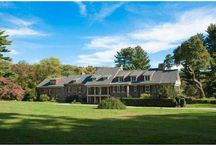 Fox Creek Farm / Stunning home for sale in Chester County, Pa., situated on 32 breathtaking acres, 6 BR, 5 full baths, numerous fireplaces, pool, pond,