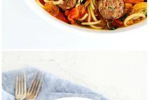 zuchinni noodles recipes