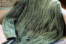 Férfi kötött pulóverek