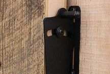 barn door lock