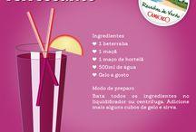 Receitas de verão / Veja bebidas deliciosas para preparar. / by Camicado