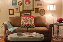 Small apartment ideas / A&P's first apt ideas