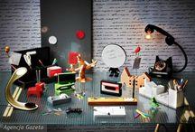 WZORNICTWO NA BIURKU / Jak kreatywnie zagospodarować swoją przestrzeń w pracy
