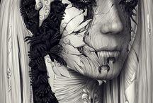 art-/paint/draw / Div kunst
