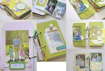 Craft It! - Scrapbooks & Journals / All those little memories!  (And some paper crafts, too!) / by The Mighty HeathRa