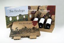 Expositor para #vino y #cava / Expositor botellero personalizado 100% reciclado
