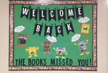Library / Bulletin boards