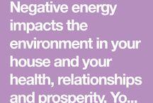 Banish negative energy