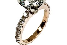Rose gold same as Pink gold 14k Engagement rings with high quality cubic zirconia cz