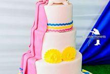 lovely tradional wedding cake