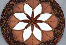 Mandalas & Mensageiros / Mandalas, sinos (mensageiros) dos ventos, filtro dos sonhos e afins...