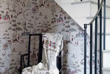 Cathay Wallpaper / Nina Campbell has chosen the literary name for Imperial China for this collection of wallpapers of oriental inspiration ideally suited to both classical and contemporary interiors. Co-ordinating and companion designs are to be found in the CATHAY fabric collection.