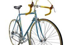 Fausto Coppi / Fausto Coppi (Mitte 70er Jahre) nach der Restauration - wie aus dem Verkaufsraum von damals vor über 40 Jahren. Ein Augenschmaus ist auch das Campagnolo Valentino Schaltwerk...... www.steeldream-bikes.de