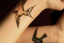Golondrina / Swallow tattoos