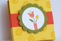 Stampin' Stuff-3 x 3 / by MaryAnn Hilleary
