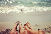 Beach bums! / Beach