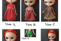 D O L L S: Clothes & Patterns / Doll clothes and Patterns, for Waldorf dolls, Blythe and everything in between / by Louie Louie Bebe