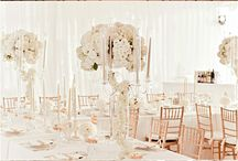 Wedding gold decor