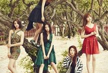 CLC / CLC (Hangul: 씨엘씨) is a five-member South Korean girl group formed by Cube Entertainment in 2015. CLC is an initialism which stands for CrystaL Clear. CLC made their debut with the release of their EP First Love on March 19