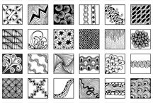 A zentangle / Zentangle ideas and inspiration
