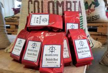 Our Gourmet Coffees / A small veteran-owned company that roast only premium quality Arabica beans after you order and ship USPS Priority so you get your coffee at its peak of freshness!