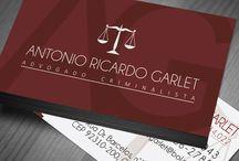 Cartão Visita Advogado