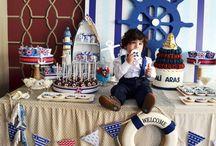 Denizci Temalı 1 Yaş Doğum Günü Partisi
