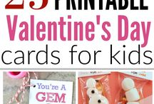 Free Printable Valentines Cards for Kids