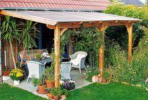 Überbau Terrasse